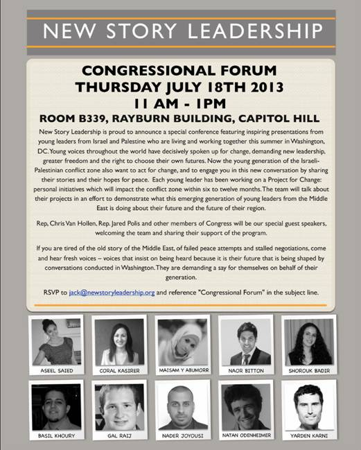 New Story Leadership Congressional Forum